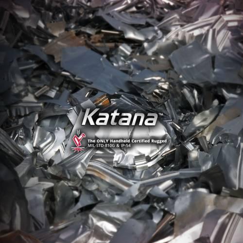 Сортировка металла спектрометром Rigaku Katana KT-100S