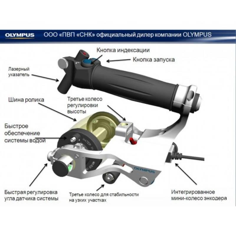 RollerFORM роликовый датчик для ультразвукового дефектоскопа Omniscan - фото 2