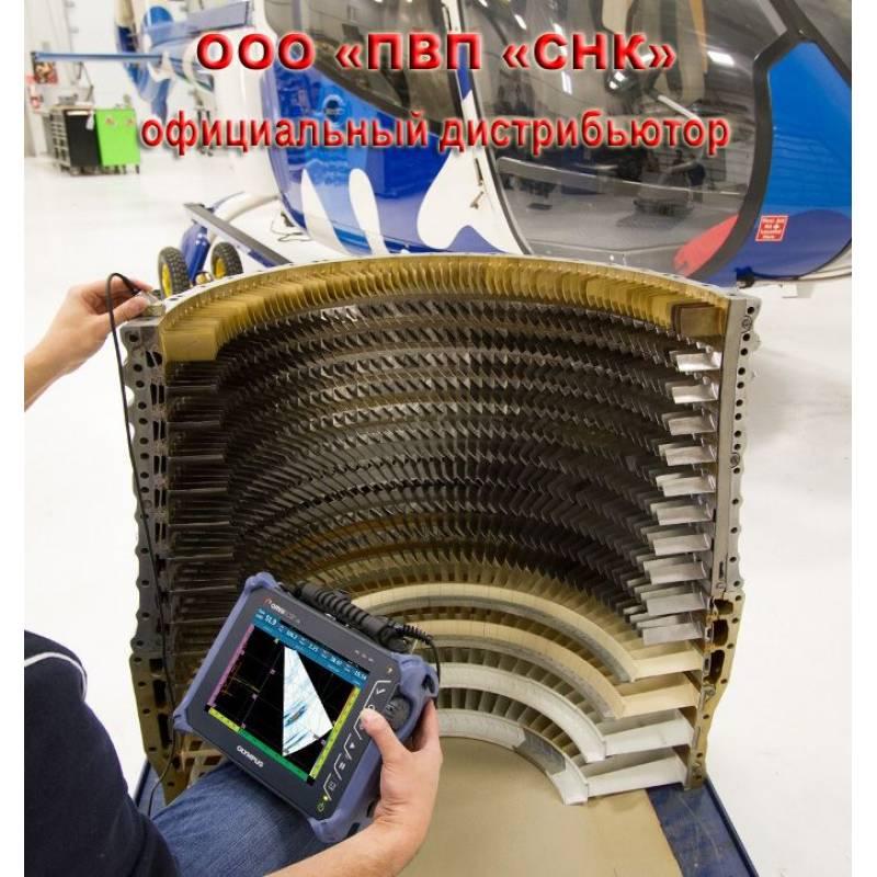 Ультразвуковой дефектоскоп на фазированных решетках антеннах Olympus OmniScan SX - фото 1