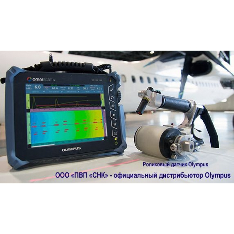 RollerFORM роликовый датчик для ультразвукового дефектоскопа Omniscan - фото 1