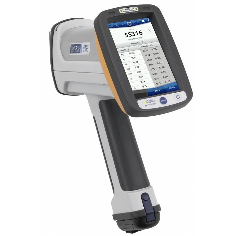 X MET 5100 портативный анализатор металлов - фото 1