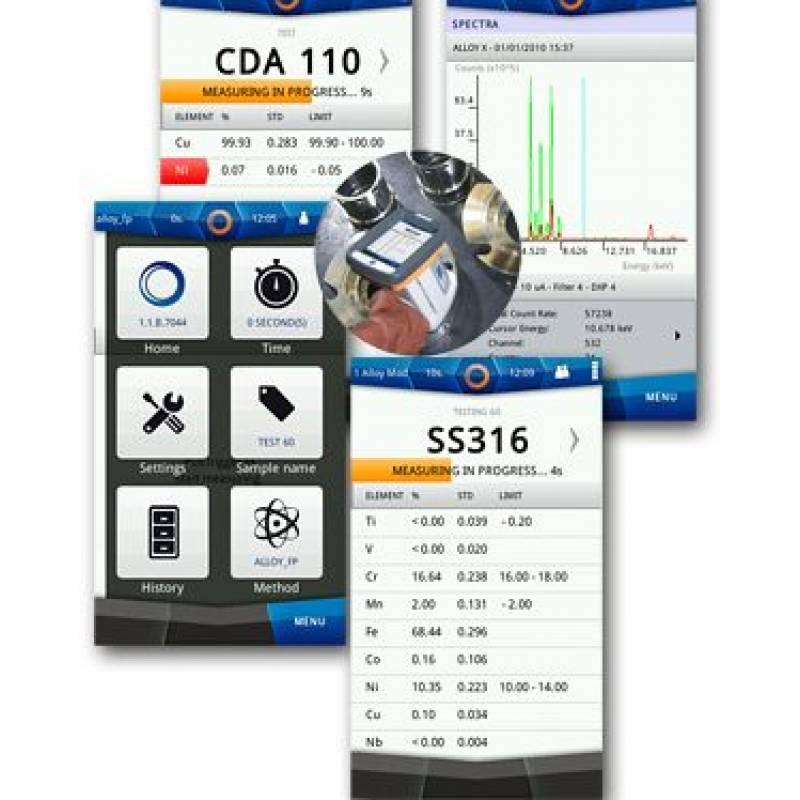 X MET 5100 портативный анализатор металлов - фото 2
