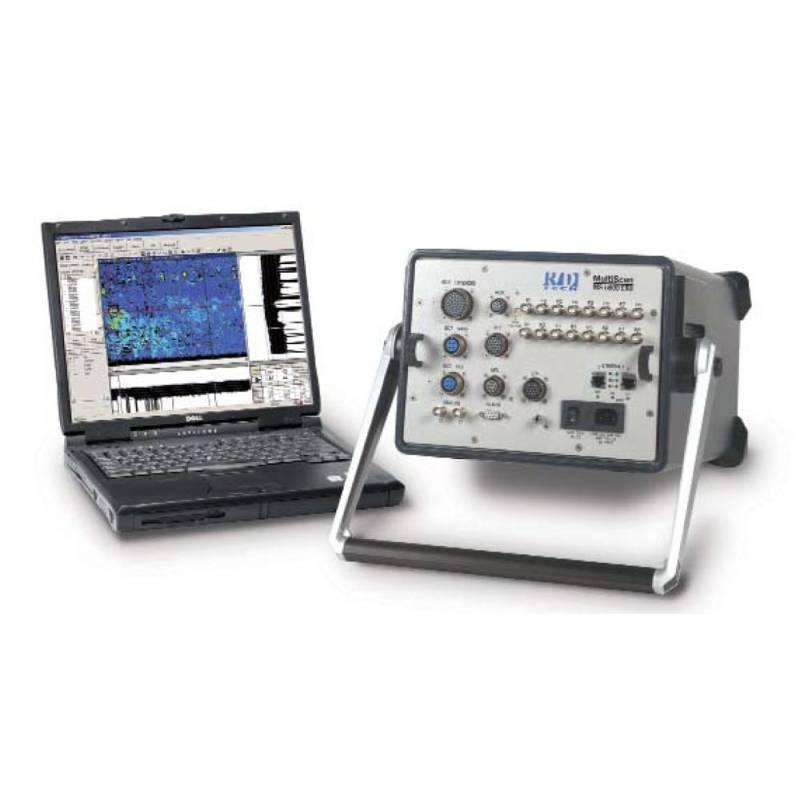 дефектоскоп для автоматизированного контроля Olympus MultiScan MS5800U для контроля технологией IRIS.