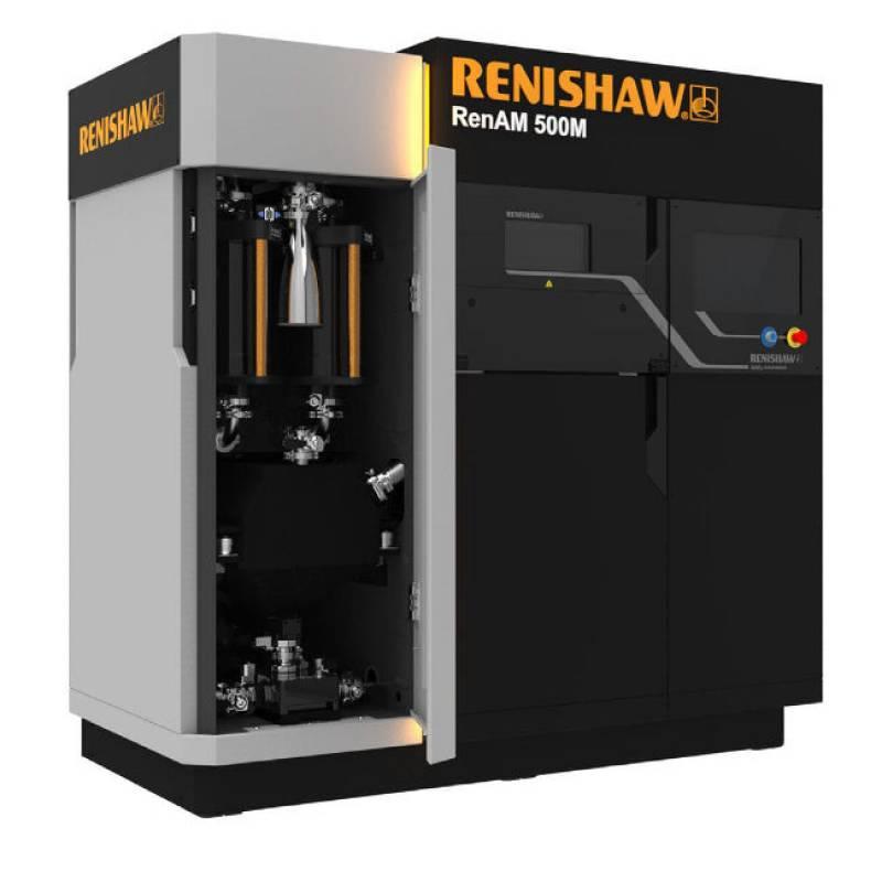 Промышленный 3D принтер по металлу Renishaw AM400 и RenAM500M
