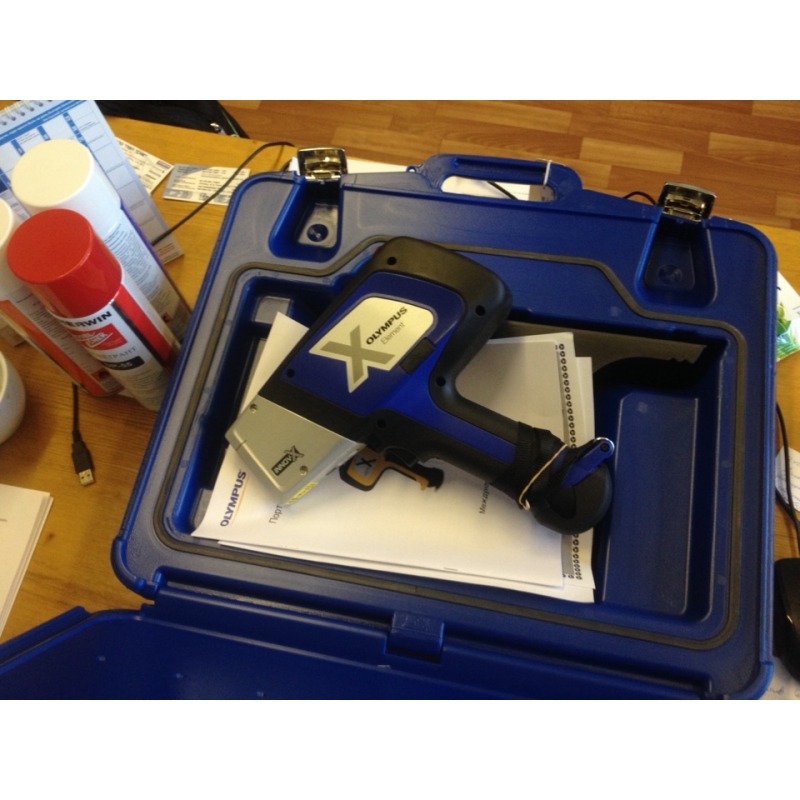 Olympus DELTA Element рентгенофлуоресцентный анализатор металлов и сплавов - фото 2
