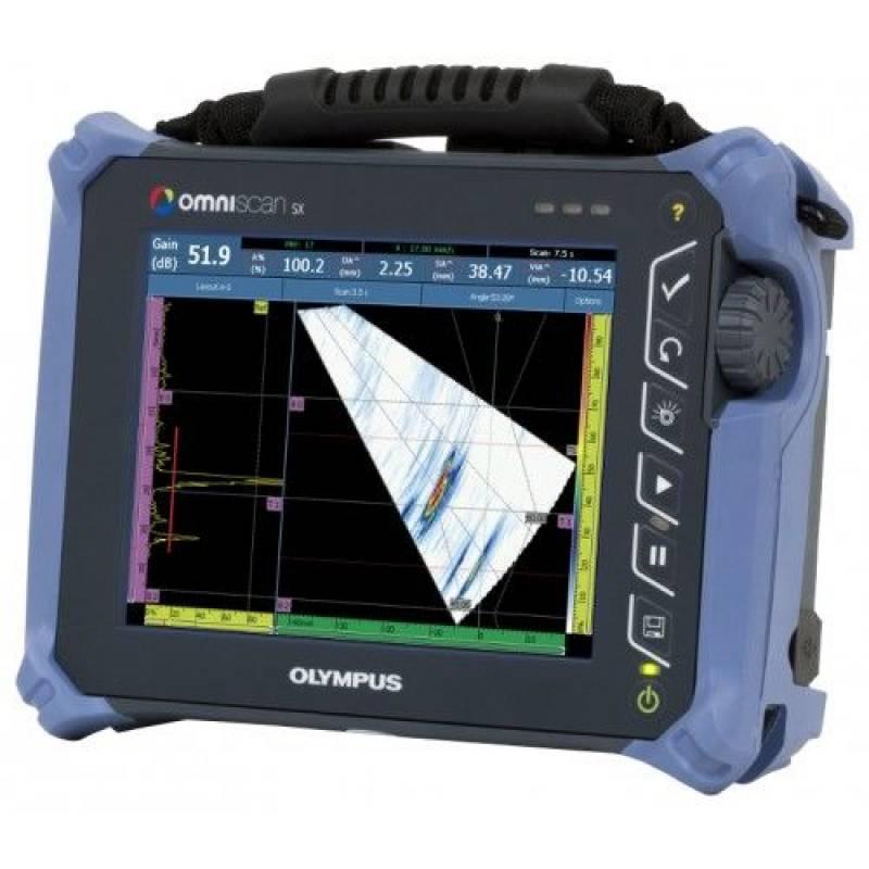 Ультразвуковой дефектоскоп на фазированных решетках антеннах Olympus OmniScan SX