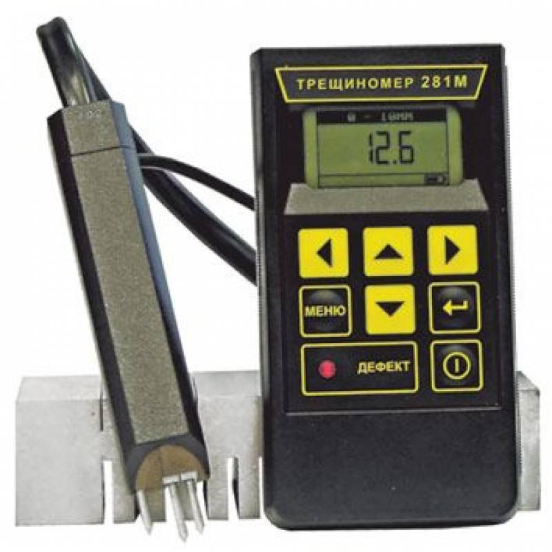 Электропотенциальный трещиномер 281М купить цена недорого