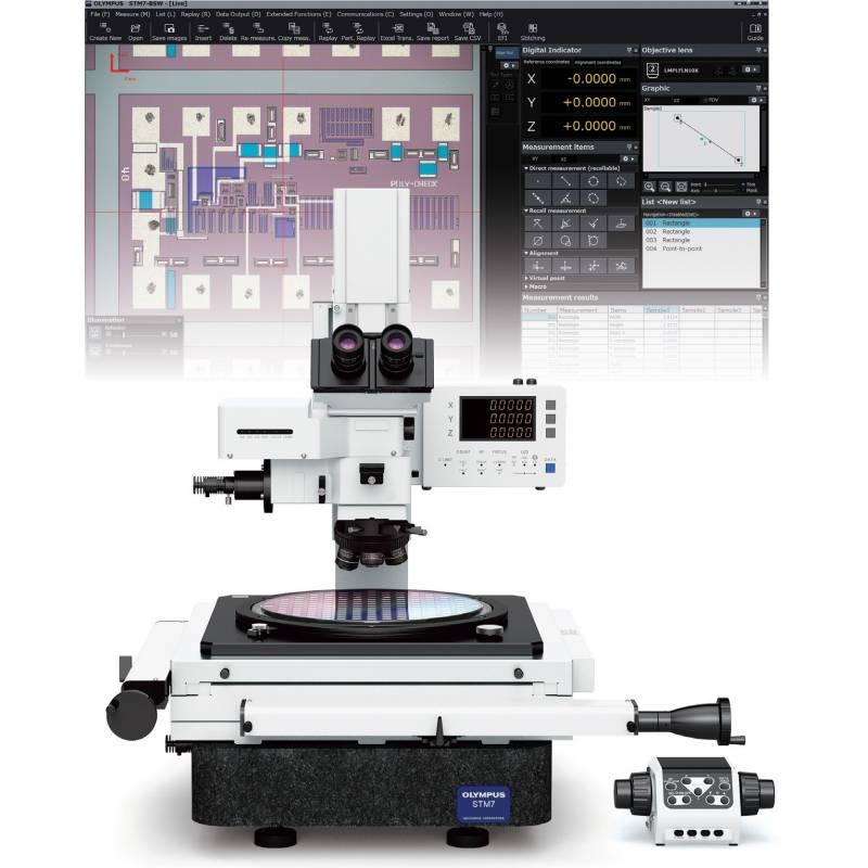 Современная модель измерительного микроскопа STM-7 создана для контроля геометрических параметров различных деталей. - фото 2