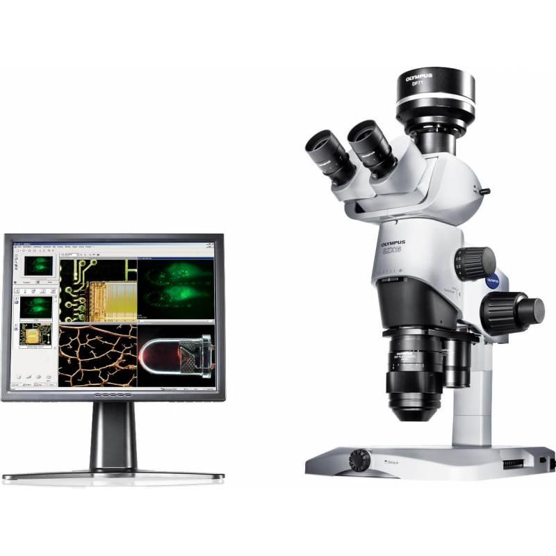 Стереоскопический микроскоп SZX16 исследовательского типа с высочайшим разрешением