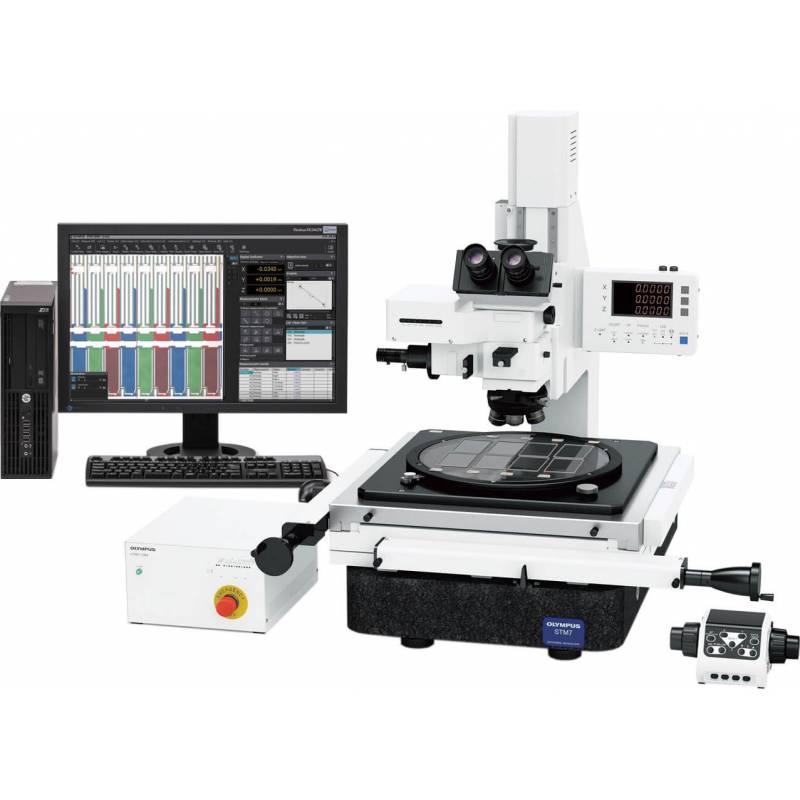 Современная модель измерительного микроскопа STM-7 создана для контроля геометрических параметров различных деталей.
