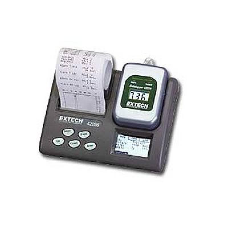 Регистратор данных температуры с принтером Extech 42266