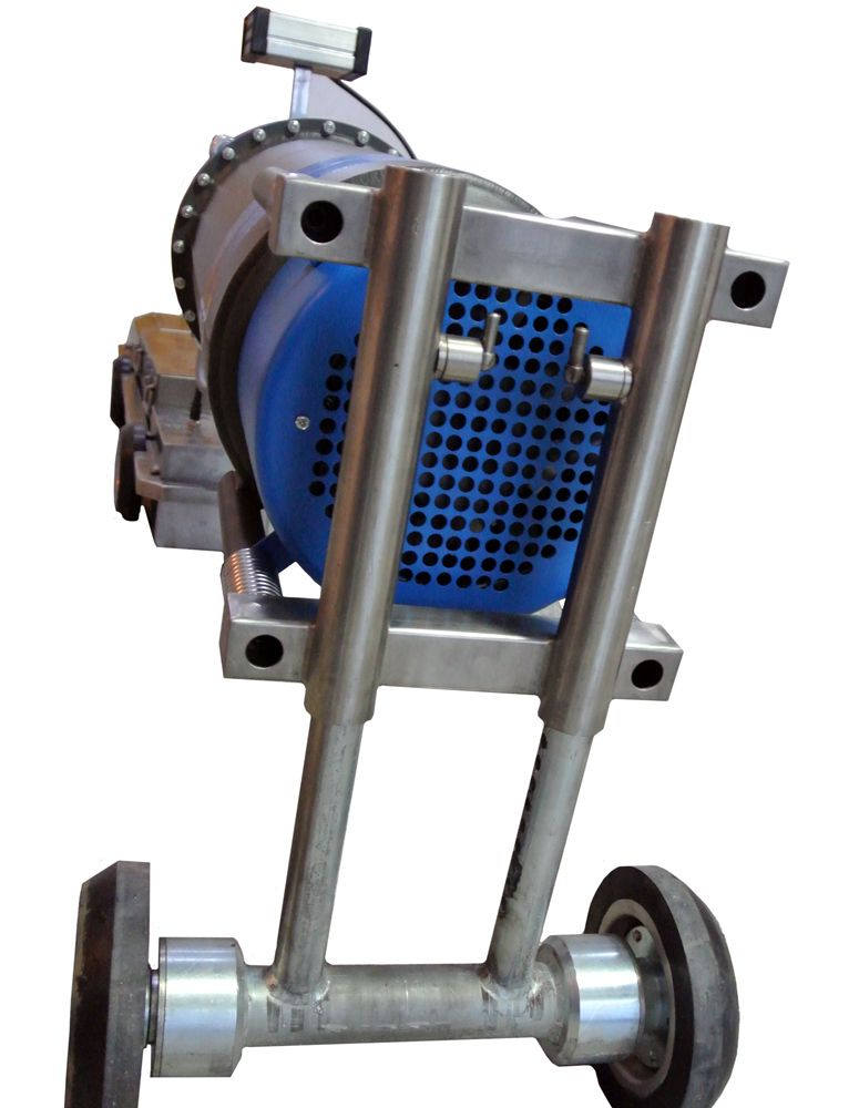 Рентгеновский кроулер RayCraft для труб большого и малого диаметра