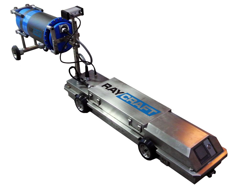 RayCraft рентгенографический кроулер для труб