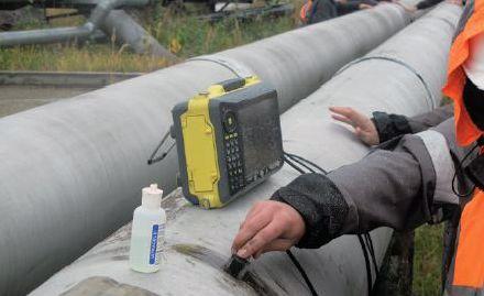 Harfang VEO дефектоскоп на фазированных решетках