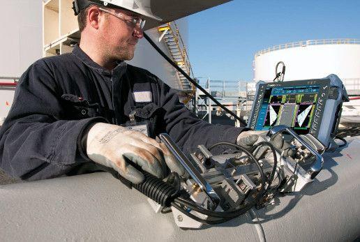 Применение в работе оборудования по определению дефектов в трубопроводе.