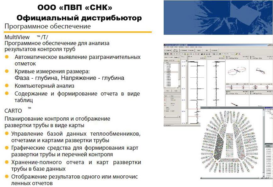 Програмное обеспечение для MultiScan MS 5800 EC